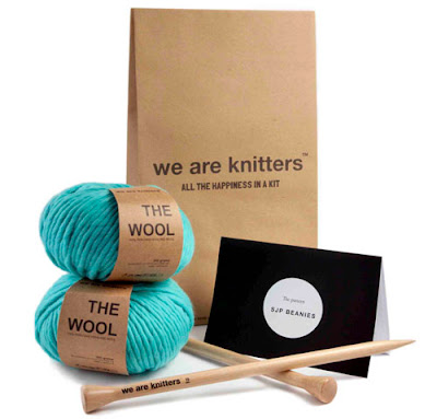 we are knitters, punto, kit