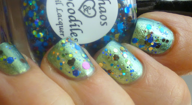 And for goodness sake, don't forget to enter our birthday giveaway for a chance to win one of four bottles of Pass the Sprinkles (and other cool prizes).  You want this polish.  You really do.  It has your name written ALL over it.