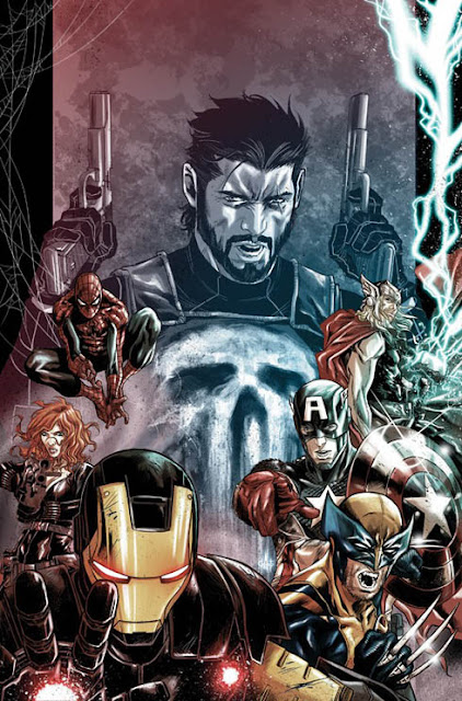 Punisher War Zone 2 cover 2012
