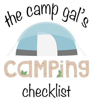 Camping Checklist :: OrganizingMadeFun.com