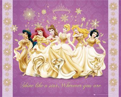 Disney Princess Golden