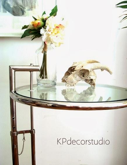 Mesas auxiliares y mesitas para dormitorio eileen gray estilo retro años 70 , metal tubular cromado y cristal