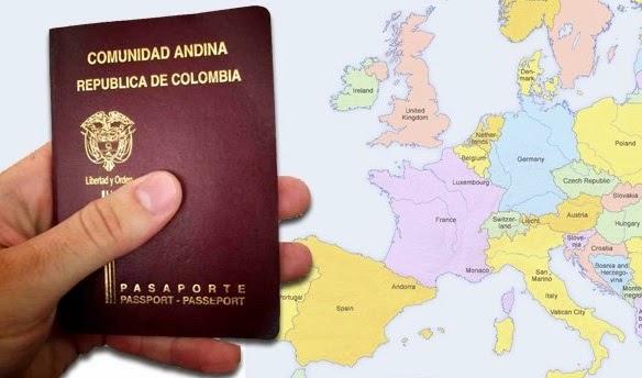 Colombia-visa-schengen-Europa