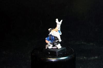 Músico de los Bugman's Dwarf Rangers
