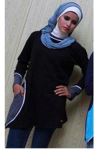 UKHTI Teens UT29 - Hitam (Toko Jilbab dan Busana Muslimah Terbaru)