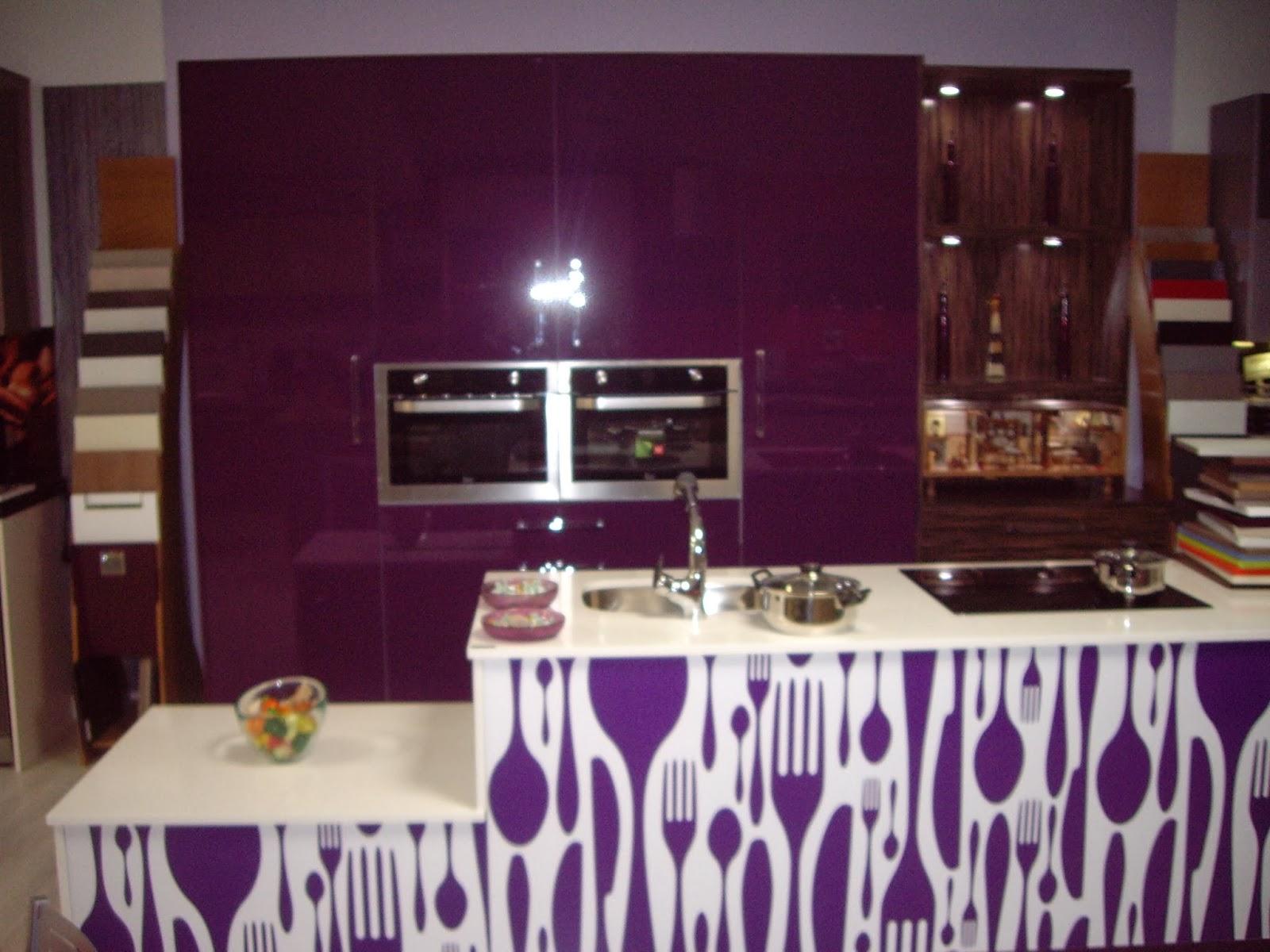 Cocina de lujo formica brillo de luxe en muebles anser - Fabricas de muebles de cocina en madrid ...