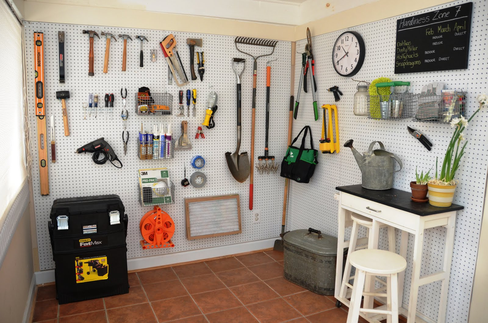 Tool Shed Organization Ideas