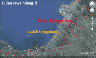 Misteri Paling Mengerikan, Pulau Jawa Akan Menghilang Dari Indonesia