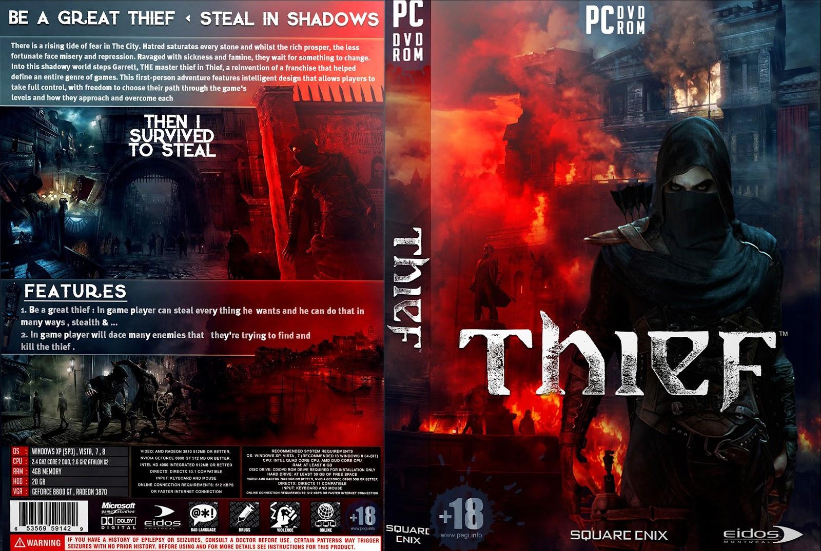 Capa Thief PC