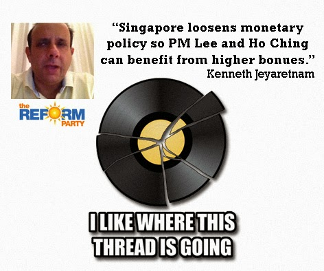 Singapore Reform Party Kenneth Jeyaretnam