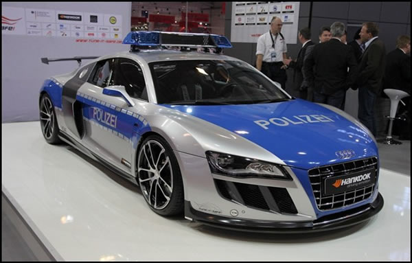 The Abt Has Presented At The Essen Motor Show In Germany, The Audi R8 GTR,  The New