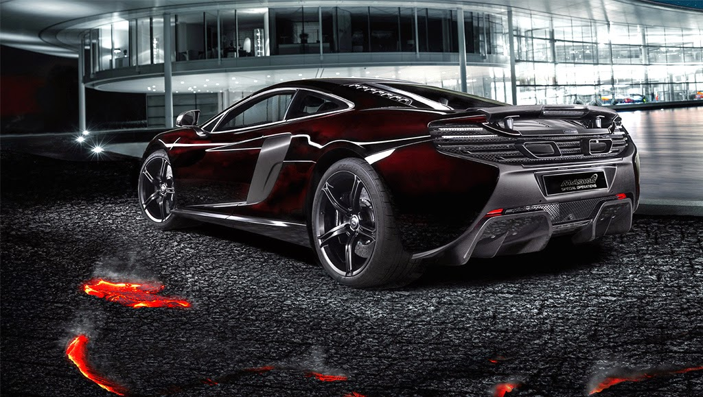 McLaren MSO 650S Coupe Concept Wide Wallpaper