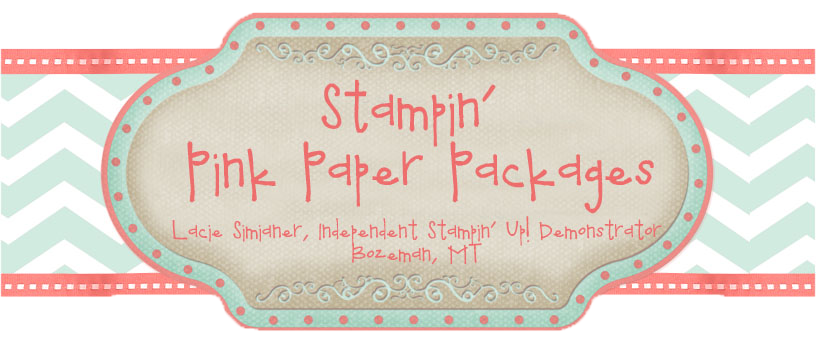 Stampin' Pink Paper Packages