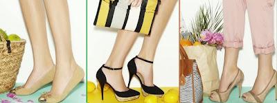 Zapatos para mujer Blanco verano 2012