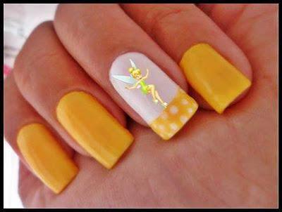 Uñas Amarillas Campanilla