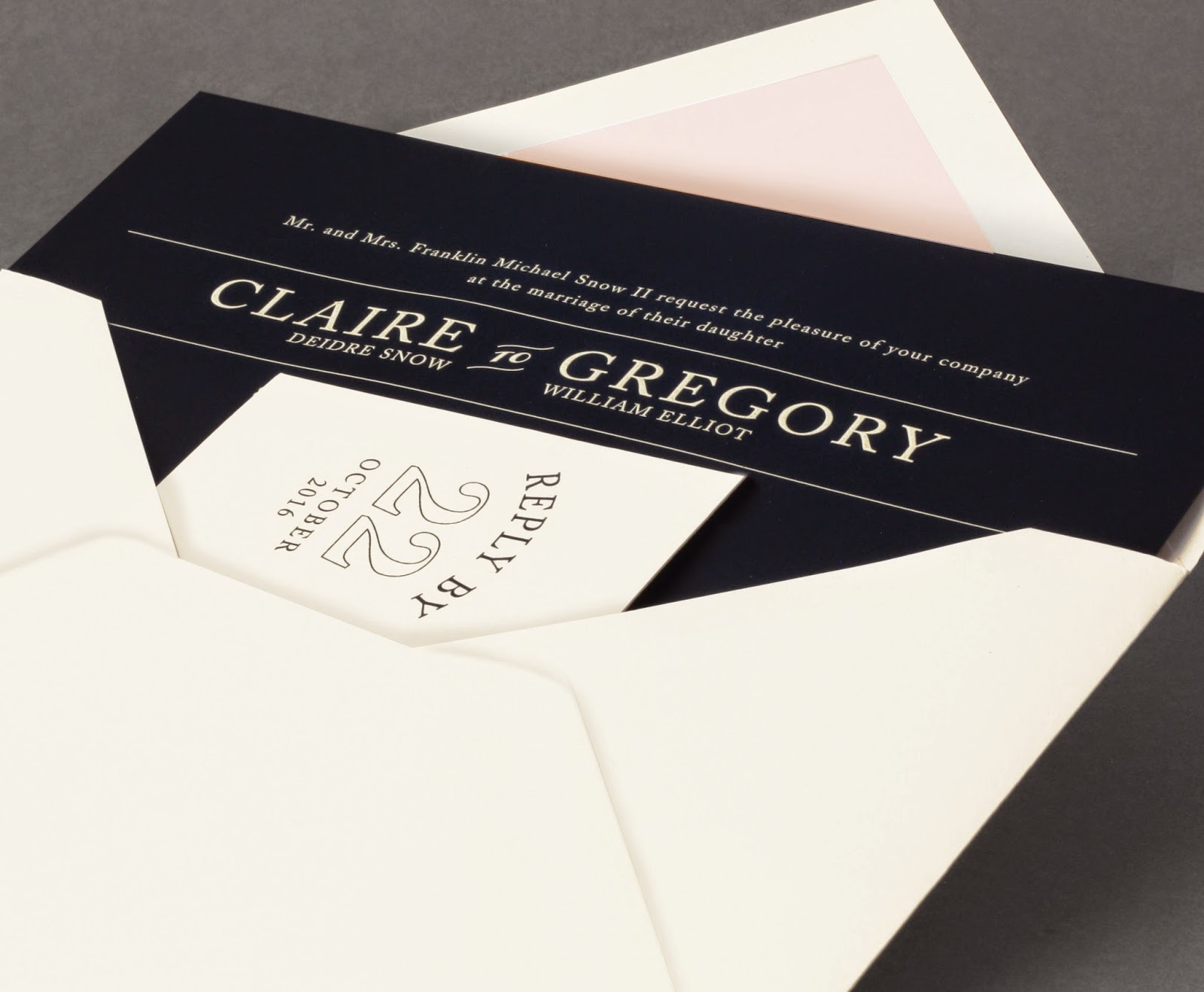 William arthur blog our new vera wang wedding album black and white the bold black and white stripes that define this invitation suite are quintessentially vera wang the addition of gold engraving to this design makes it stopboris Choice Image