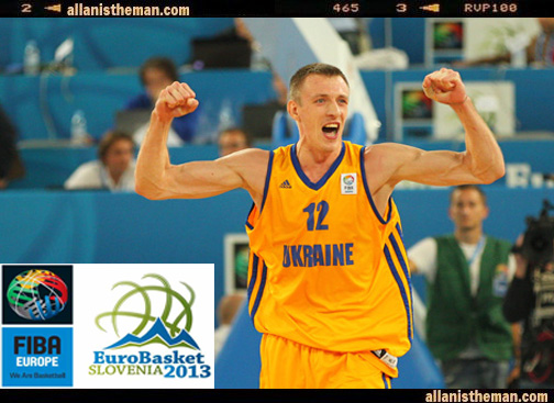 EuroBasket 2013: Ukraine, Lithuania victorious (Highlights Videos)