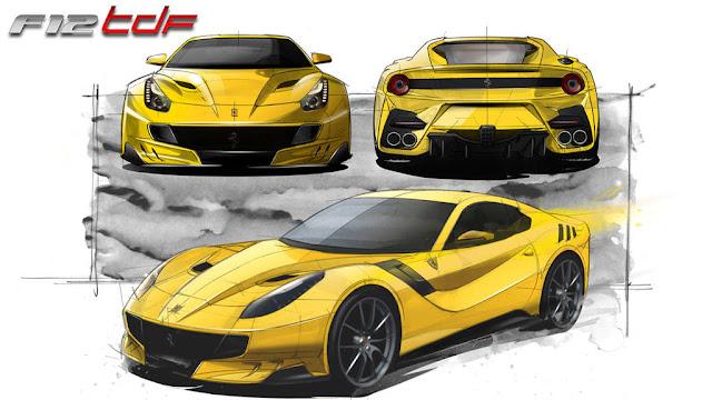フェラーリF12TDF 性能