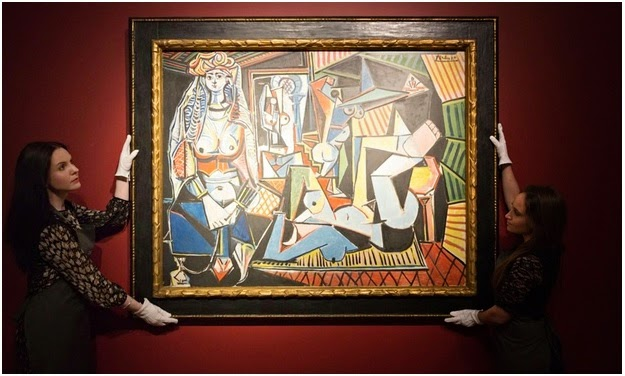 725. Chennai's Picasso sells his work of art