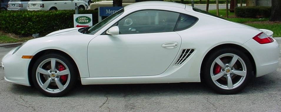 Kaaf Car Rental Porsche Cayman S 20092011 White