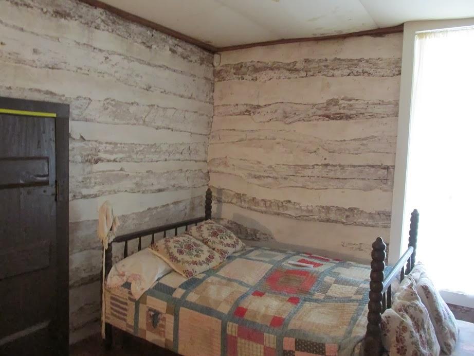frontier log cabin interior