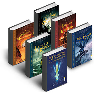 Livros Percy Jackson e os Olimpianos