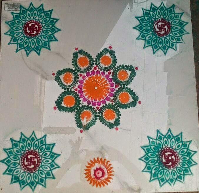 Yojna Kalaskar Kolam Designs 6