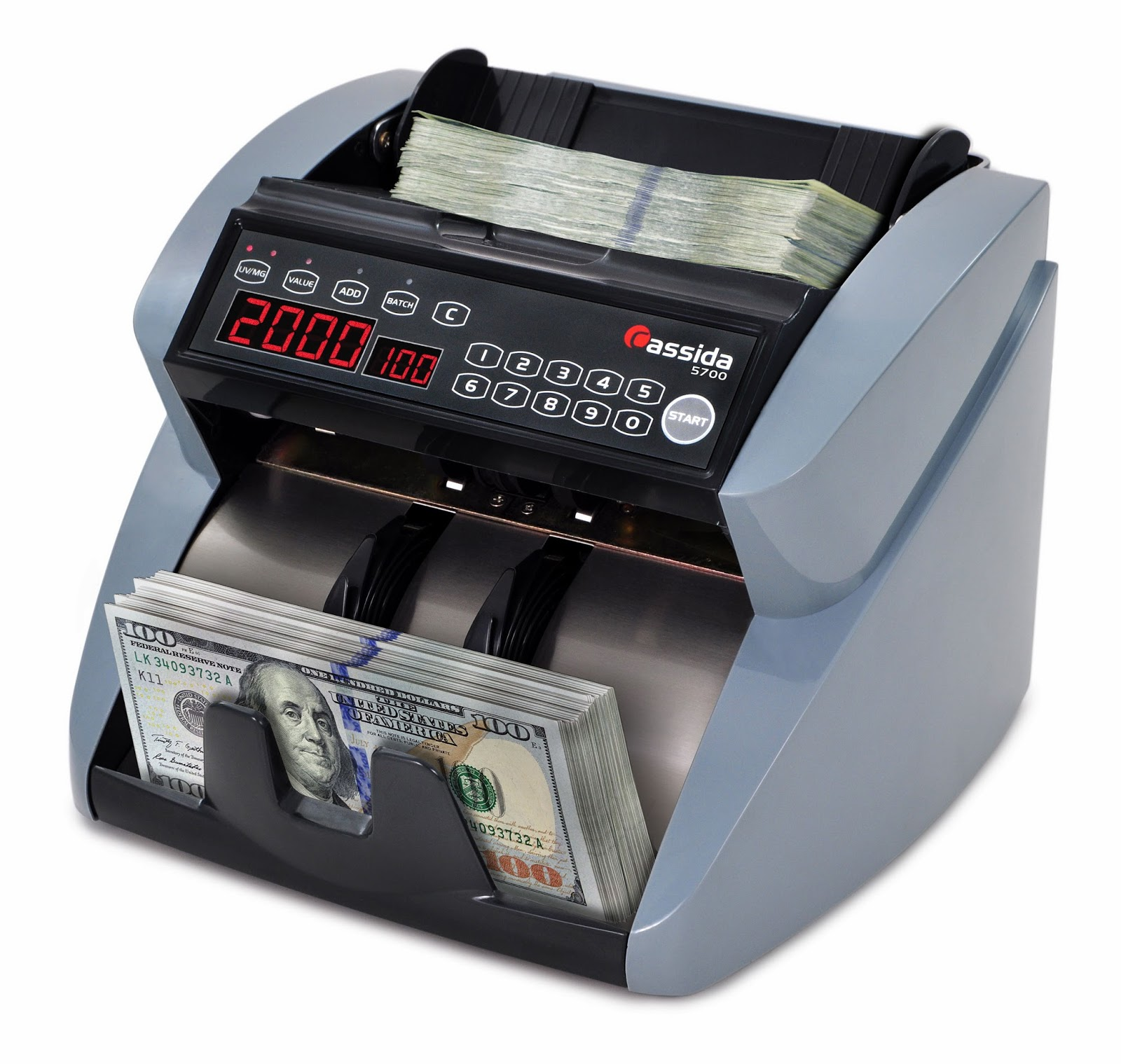 Cassida 5700 Money Counter