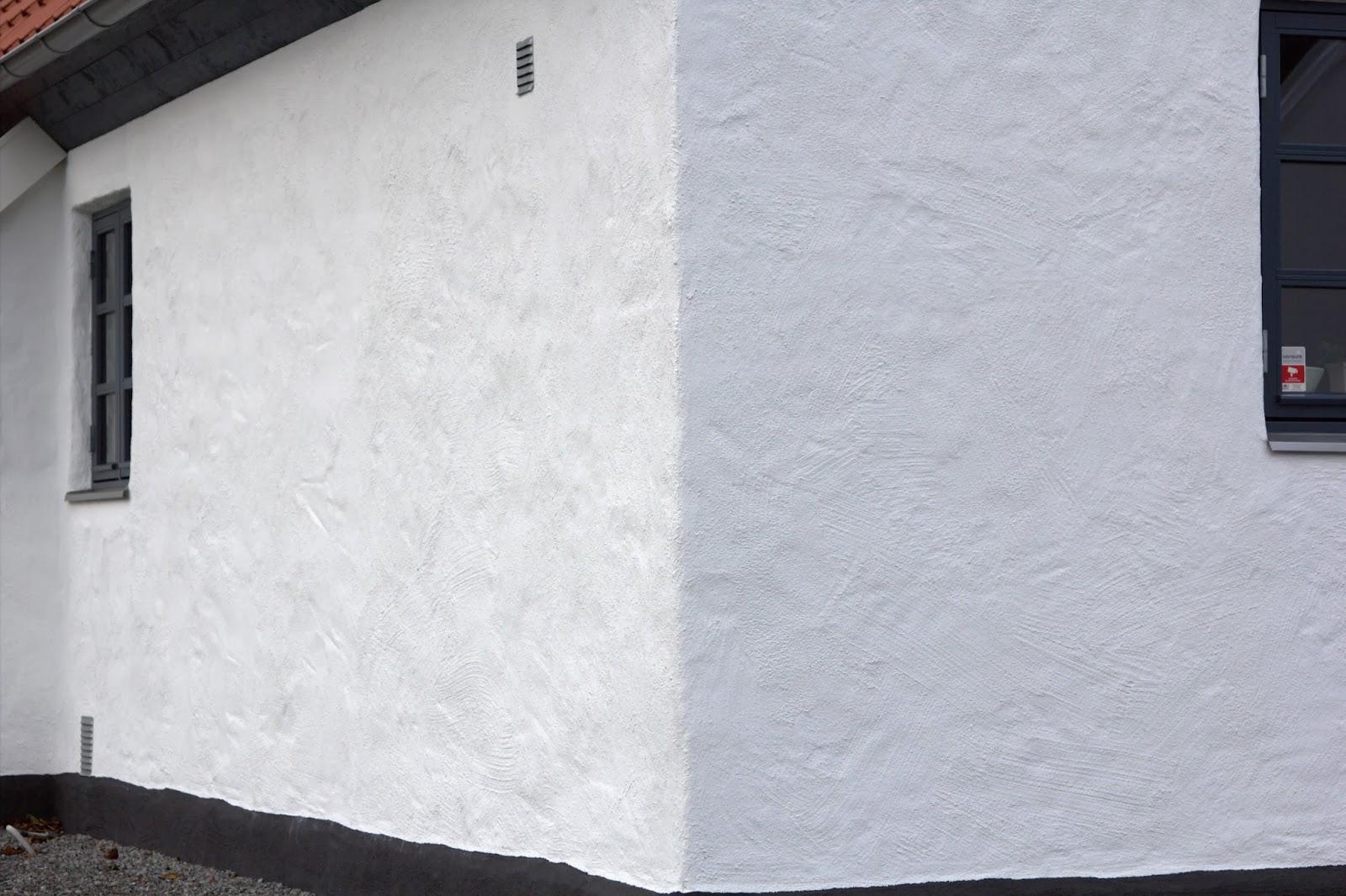 villa natura ekologiskt lågenergihus österlen puts fasad
