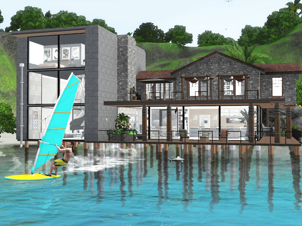 Sims  Villa Isla Paradiso