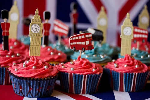 8 London Cupcakes Are One Direction