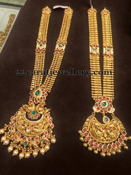 Antique Broad Long Sets Jewellery Designs