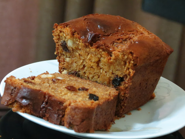 mittu cooking love: Spiced Fruit Cake (eggless fruit and nut cake ...