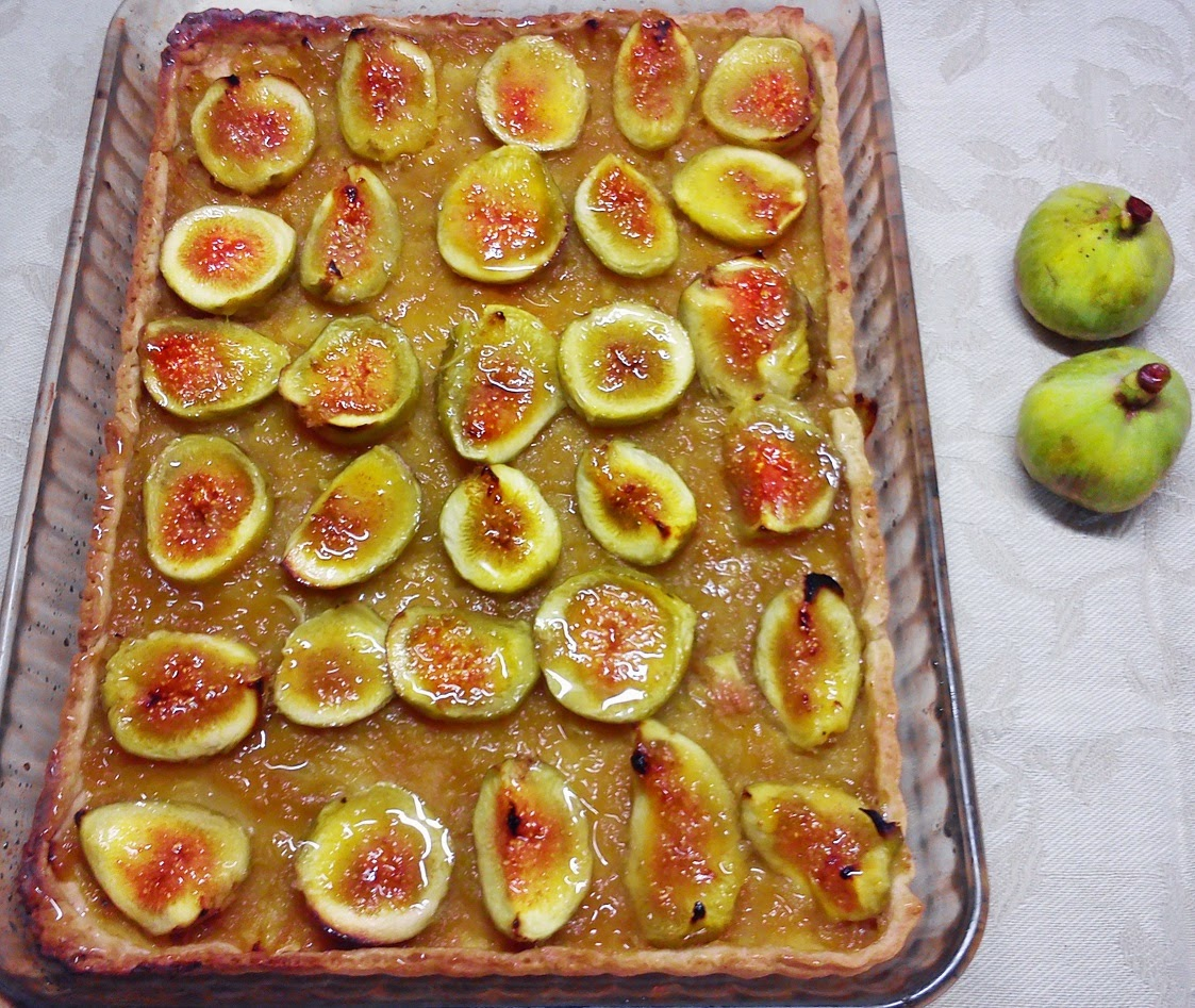 Torta de Higos y Manzana