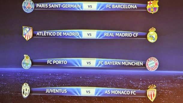 Resultados de los cuartos de Champions 2014-15 - FC Barcelona Noticias