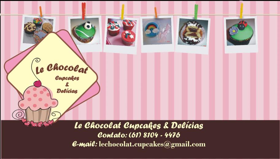 Le Chocolat Cupcakes e Delícias
