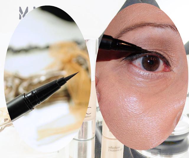 flüssiger Eyeliner schwarz
