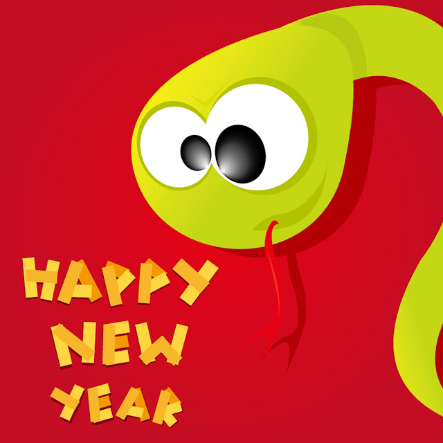 chinese snake year ipad wallpaper 10