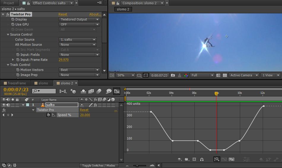Xavixx : Guía de efectos digitales para la edición de deportes extremos