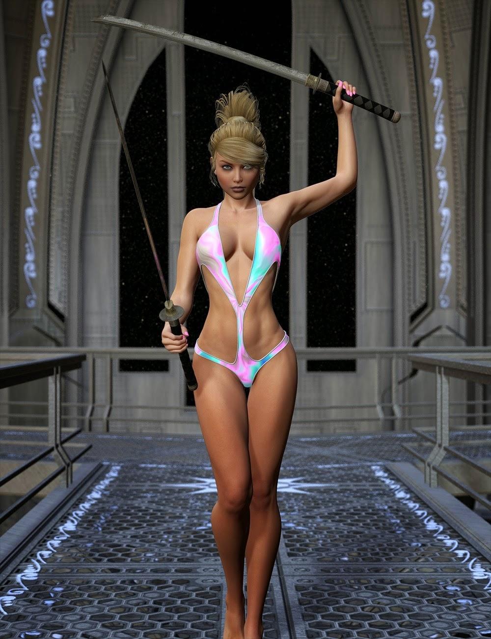 Sci-Fi - Magic Textures pour Superhero Monokini