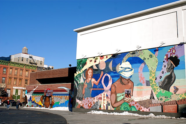 Nyc nyc mural in harlem by the creative arts workshops for Creative mural art
