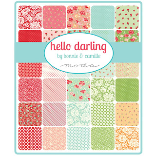 Moda HELLO DARLING Fabric by Bonnie & Camille for Moda Fabrics