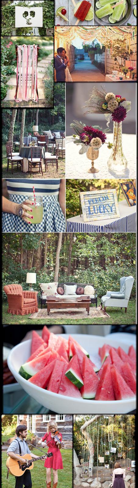 mirad la de fotos que os dejamos inspiracin para todas las que hayis decidido casaros al aire libre y que queris sorprender a vuestros invitados con