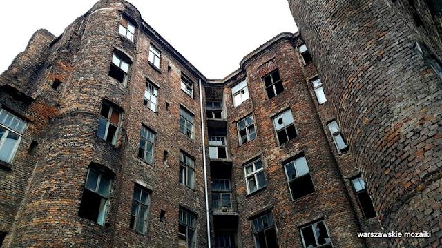 Warszawa Warsaw Wola kamienica ostaniec pustostan Władysław Szlengel opuszczone