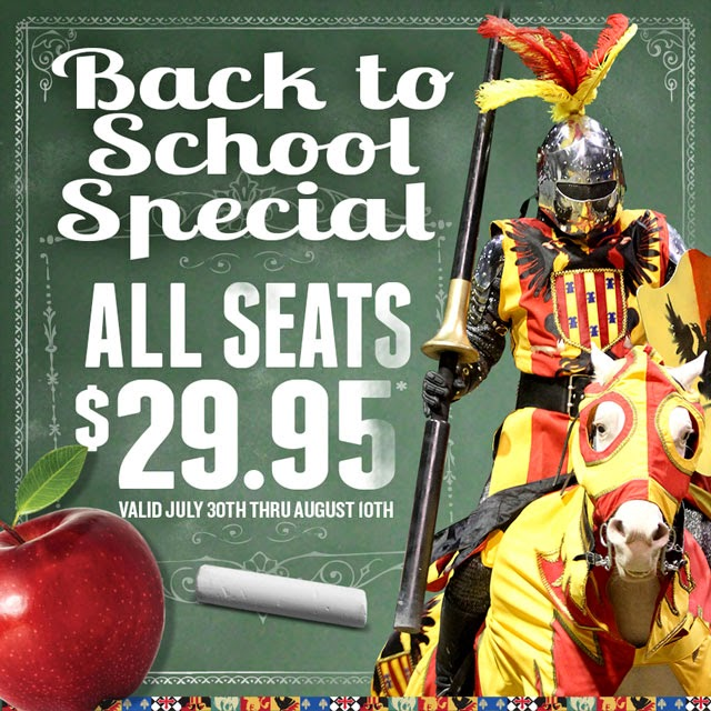 Medieval Times Back-to-School Special