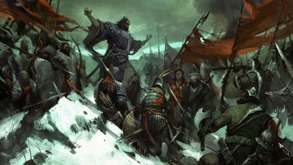 Wenjun Lin illustrations fantasy violence wars battles Brotherhood