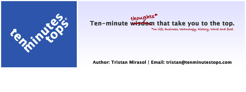 tenminutestops.com | Ten-minute thoughts that take you to the top.
