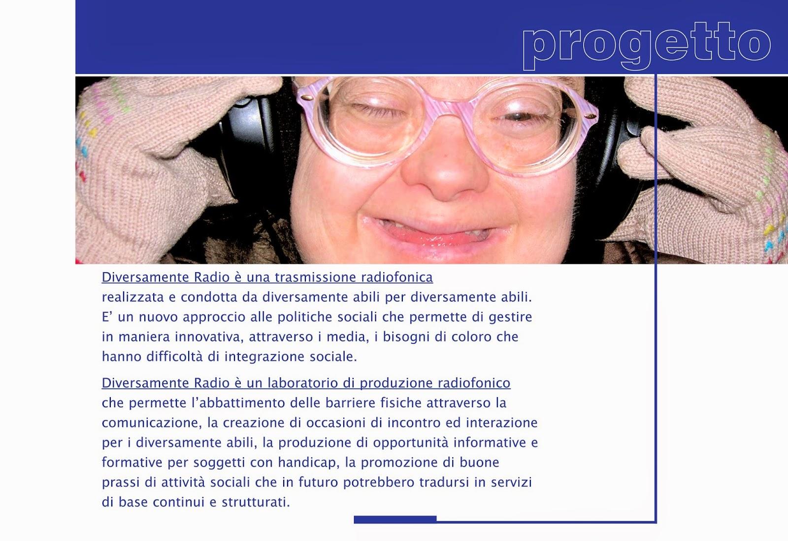 progetto psicologia disabilità