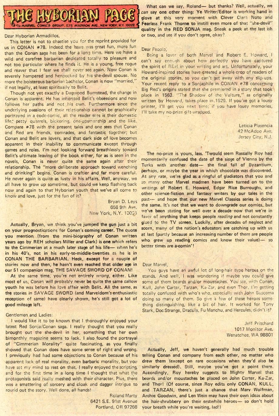 Conan the Barbarian (1970) Issue #84 #96 - English 20