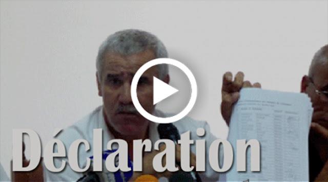 VIDÉO. Déclaration de Salah Meriem ex avocat de la JSK